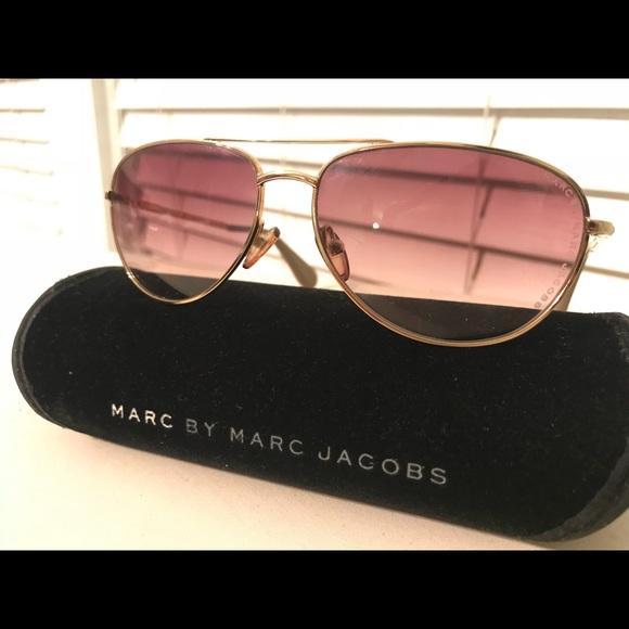 791ecd6c2 Marc By Marc Jacobs Accessories | Mmj003s Aviator Sunglasses | Poshmark
